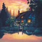 3189 THE COTTAGE FUN WALL ART FANTASY METAL WALL SIGN BRAND NEW