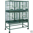 ELFDD 4020 PARROT STACK BREEDER CAGE 40x20x53 bird cages toy toys conure caique
