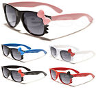 Hello Kitty Kids Sunglasses w/Bow & Whiskers Children Age 1-5 Baby & Toddler NEW