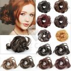 Free Ship New Synthetic Fiber Hair Bun Scrunchie Hairpiece Inexpensive