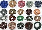 6MM Various Round Loose Bead Gemstone Finding Strand 15-16''