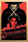 Poster V for Vendetta - Red