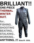 Climate 1 Piece Thermal Winter Fleece Suit   NEW FOR 2013  (TSZS/Size..)