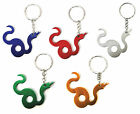 Snake Keyring / Keychain (ALL COLOURS)
