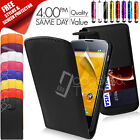 NEW LEATHER FLIP CASE COVER FITS LG GOOGLE NEXUS 4 E960 FREE SCREEN PROTECTOR