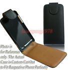 PREMIUM BLACK PU LEATHER CASE POUCH COVER FIT VARIOUS NOKIA PHONE MODELS