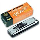 Seydel Session PADDY RICHTER Harmonica w/ Black Leather Case! - Pick Your Key!