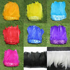1-2 yards 6-7 inchs long SWAN SHOULDER FEATHERS dyeing 9 color for Craft Supply