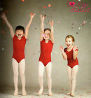 NWT CAPEZIO SHORT SLEEVE GARNET  LEOTARD COT/LYC CHILD SIZES BALLET DANCE RED for sale  Shipping to South Africa