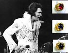 ELVIS ON TOUR Aloha CONCERT NUGGET Ring RIGHT HAND RUBY SAPPHIRE ONYX