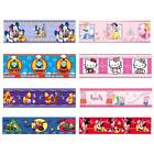 Character + Generic Wallpaper Borders 5m - Self Adhesive - Kids Bedroom