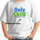 ONLY CHILD EXPIRING SOON BIG BROTHER PERSONALIZED KIDS T-SHIRT
