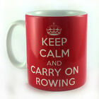NEW KEEP CALM AND CARRY ON ROWING MUG CUP GIFT PRESENT NOVELTY FUN RETRO VINTAGE