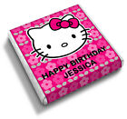Personalised Hello Kitty Girls 3rd 4th 5th Birthday Party Bag Favour Chocolates