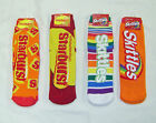 ONE pair Women's Starburst or Skittles Slipper Sock