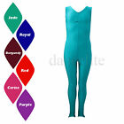 SALE NEW GATHERED FRONT SLEEVELESS STIRRUP FOOT CATSUIT DANCE/GYM/DISCO