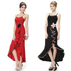 Ever Pretty Fashion Womens Black Red Evening Formal Party Cocktail Dresses 80679