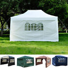4.5m x 3m Garden Heavy Duty Pop Up Gazebo Marquee Party Tent Wedding Canopy New