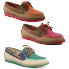 New Ladies Dolcis Lace Up Moccasins Deck Boat Shoes Flats Sizes UK 3 4 5 6 7 8