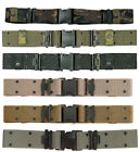 US Military Army USMC Marine Corps Style Nylon Quick Release Pistol Gun Belt NEW