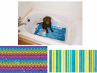 Stress free non-slip bath mat dog cat pet bathing grooming protects tubs sinks