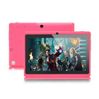 """iRULU Tablet eXpro X1 New 7"""" Pink Android 4.4 KitKat 8GB HD Screen w Keyboard"""