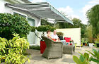 3m Half Cassette Electric Garden Patio Awning Sun Canopy Shade Retractable Cover