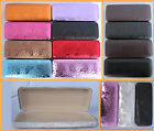 H7 Rectangular Reading Glasses Case & PVC Faux Leather Cover &Butterfly Pattern