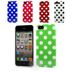 POLKA DOTS TPU GEL CASE COVER FOR THE APPLE iPHONE 5 !!