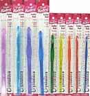 Crochet Hook Crystalites® Susan Bates® Plastic Choice of Sizes G--P (4-11.5 mm)