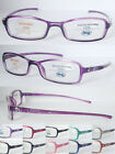 R330 3Pairs of plastic frame reading glasses with desgin on arms+100+150+200+250
