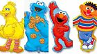 Sesame Street ( 4 Groups of 3) Helium Foil Balloons Supershapes  flexmetal
