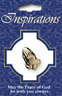 Christian Praying Hands Lapel Pin Prayer Badge Button Gold FREE P&P Qty Discount