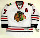 BRENT SEABROOK CHICAGO BLACKHAWKS REEBOK PREMIER AWAY JERSEY WITH A NEW 2015