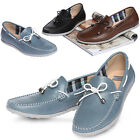 New Mooda Ribbon Stylish Mens Leather Casual Dress Boat Shoes