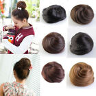 6 Colors Lady Extension Pony Tail Hair Scrunchie Drawstring Synthetic Hairpiece