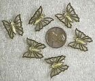 VINTAGE BRASS - Butterfly Butterflies Butterflys Stamping Charm - STYLE CHOICE