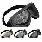 INFANTRY Airsoft Tactical Eyes Glasses Eyewear Wire Mesh Army Goggle Len Protect