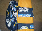 SAN DIEGO CHARGERS BOWLING SHOE COVERS/TOWEL & ROSIN BAG