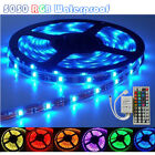 5050 5M RGB SMD LED Strip light 300 leds and IR remote controller 44keys