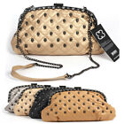 Small Skull clutch messager shoulder Bag WOMENS HANDBAG Free 4Color sk891-3