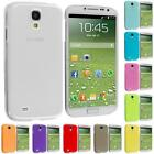 For Samsung Galaxy S4 SIV i9500 Transparent Crystal Ultra Thin Hard Case Cover