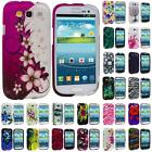 For Samsung Galaxy S III S3 i9300 i747 Design Hard Snap-On Case Cover Accessory