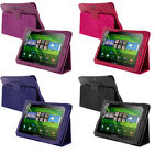 For Blackberry Playbook Tablet Color PU Leather Folio Pouch Case Cover Stand