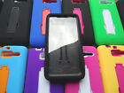 Motorola Droid RAZR M XT907 Luge Faceplate Case WITH BUILT IN SCREEN PROTECTOR