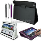 Magnetic Leather Smart Cover Folio Flip Stand Case for iPad 2/3/4 Sleep Wake
