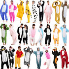 Hot Unisex Adult Kigurumi Pajamas Anime Cosplay Costume Onepiece Dress Sleepwear