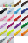 2mm Nylon Cord Thread Chinese Knot Macrame Rattail Bracelet Braided String T2