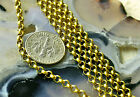 3ft Solid Brass Rolo Round Link Chains 3.2mm c57 PICK