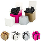 Cub Shaped Cupcake Muffin Wedding Favour Gift Boxes, Various Sizes & Quantites